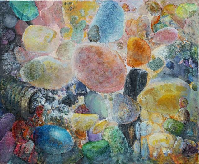 Larry Groff, 'Galileo On The Beach', 2019, Prince Street Gallery
