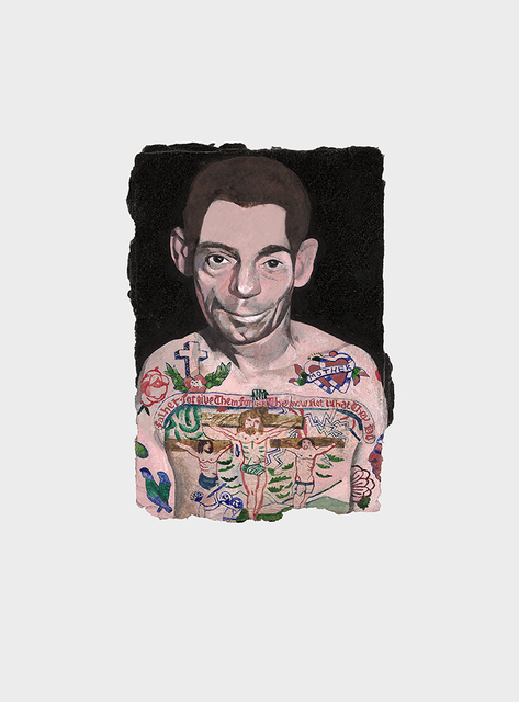 , 'Tattooed People, Dan,' 2015, Joanna Bryant & Julian Page