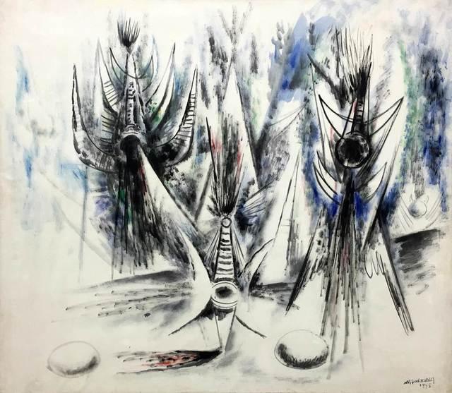 , 'Les Oiseaux Voilés,' 1945, Gary Nader