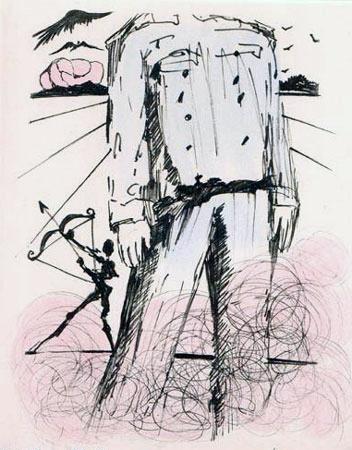 Salvador Dalí, 'Le Buste de Mao (The Bust of Mao)', 1967, Print, Etching, Puccio Fine Art