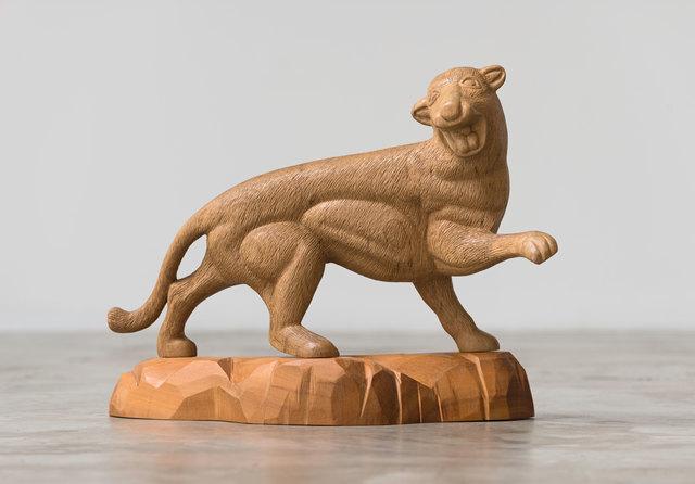 , 'Animais Lentos (Leopardo) [Slow Animals (Leopard)],' 2014, Casa Triângulo
