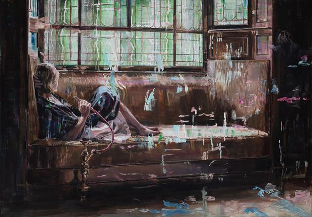 , 'Shisha Smoker,' 2018, Odon Wagner Gallery
