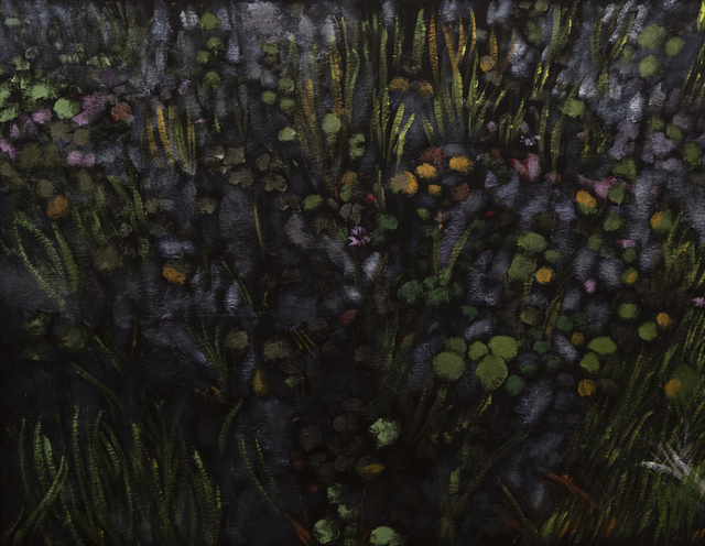 Reggie Burrows Hodges, 'Pace House Lily Pond', 2019, Dowling Walsh