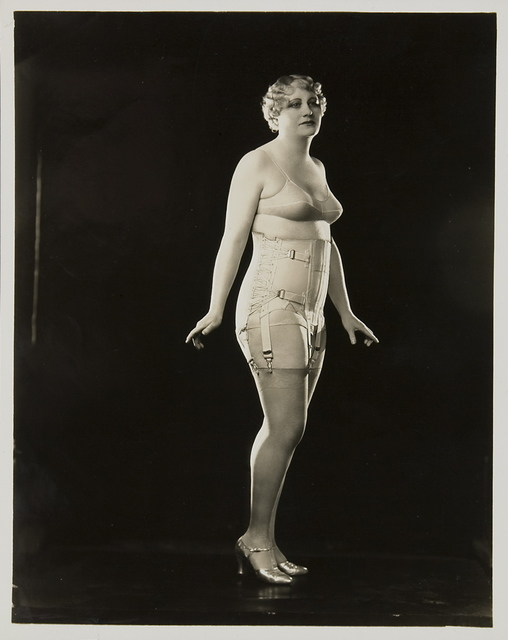 Berlei Ltd, 'Model wearing Berlei girdle and brassiere', ca. 1930, Powerhouse Museum