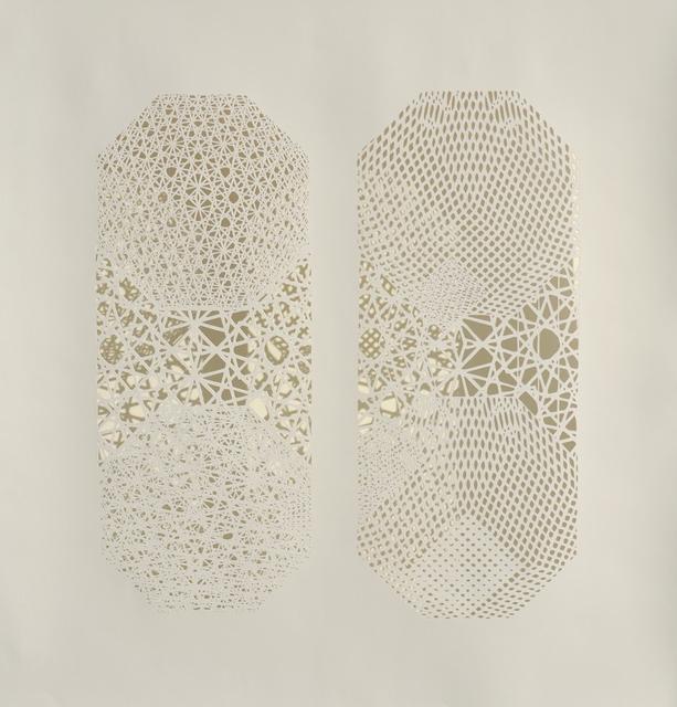 , 'Columns,' 2015, Joseph Gross Gallery