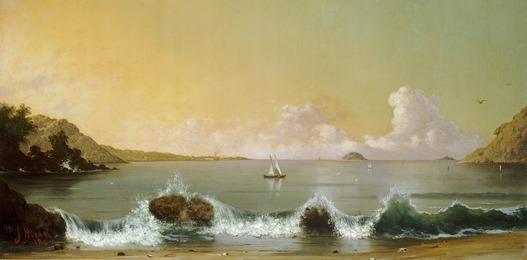 Martin Johnson Heade, 'Rio de Janeiro Bay,' 1864, National Gallery of Art, Washington, D.C.