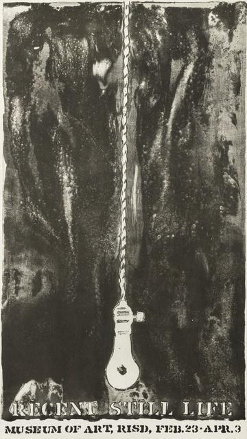 Jasper Johns, 'Recent Still Life', ca. 1966, Print, Lithographic poster, Forum Auctions
