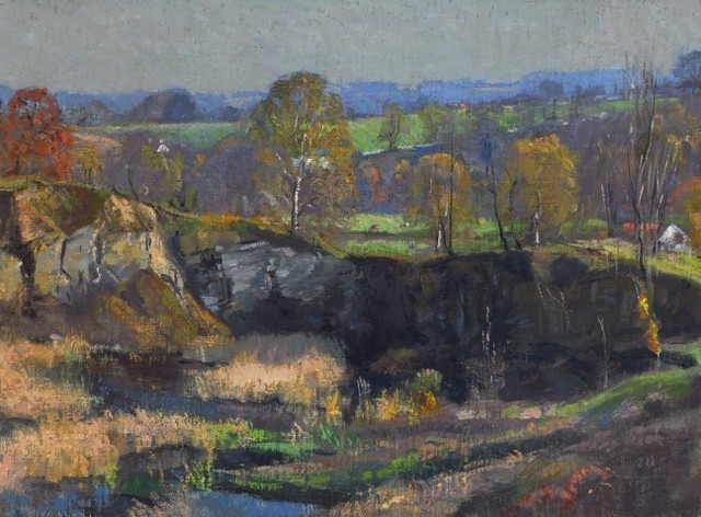 , 'The Quarry, Autumn,' , Questroyal Fine Art