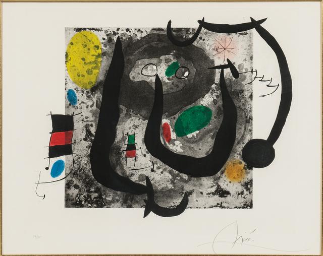 Joan Miró, 'Les armes du sommeil', 1970, Skinner