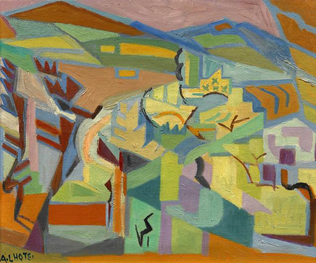 , 'Paysage,' ca. 1927, Waterhouse & Dodd