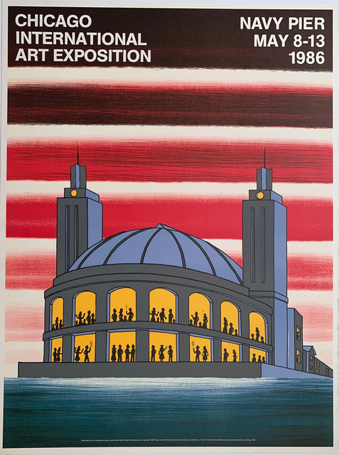 Roger Brown, 'Chicago International Art Exposition, Navy Pier, May 8-13', 1981, David Lawrence Gallery