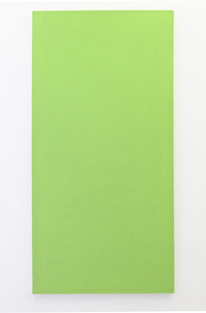 , 'Untitled (Chartreuse),' 2012, MARTOS GALLERY