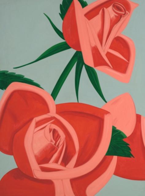 Alex Katz, 'Rose Bud', 2019, Gregg Shienbaum Fine Art