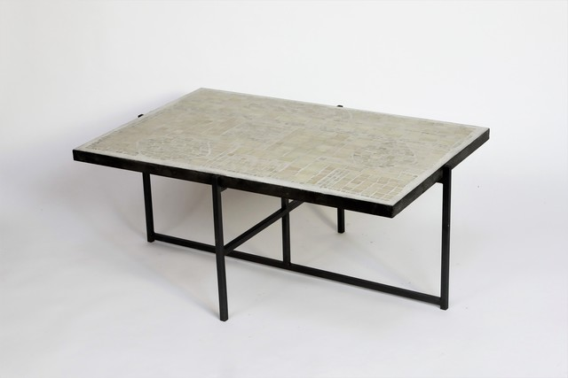, 'Mosaic Table ,' ca. 1960, Lebreton