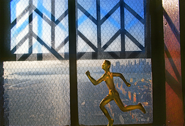 , 'Bronze Runner Brooklyn Heights,' 1975, Robert Funk Fine Art