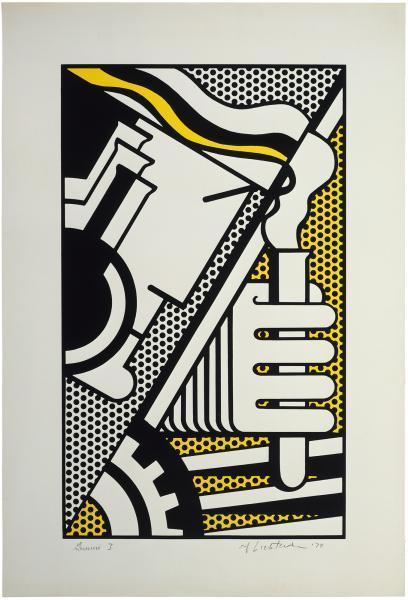 Roy Lichtenstein, 'Chem 1A', 1970, Print, Screenprint in colors, Upsilon Gallery
