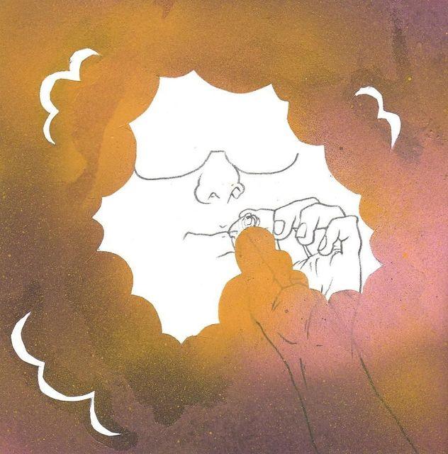 Okay Mountain, '7x7 Collaborative Drawing (#31)', 2011, Mark Moore Fine Art