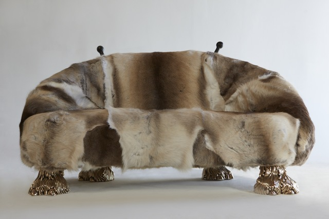 "The Haas Brothers, '""Beast"" settee', 2013, R & Company"