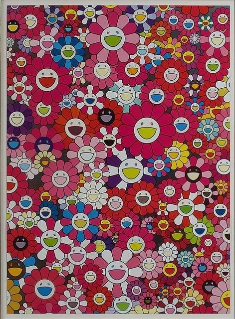 Takashi Murakami, 'AN HOMAGE TO MONOPINK, 1960 D', 2012, Kings Wood Art