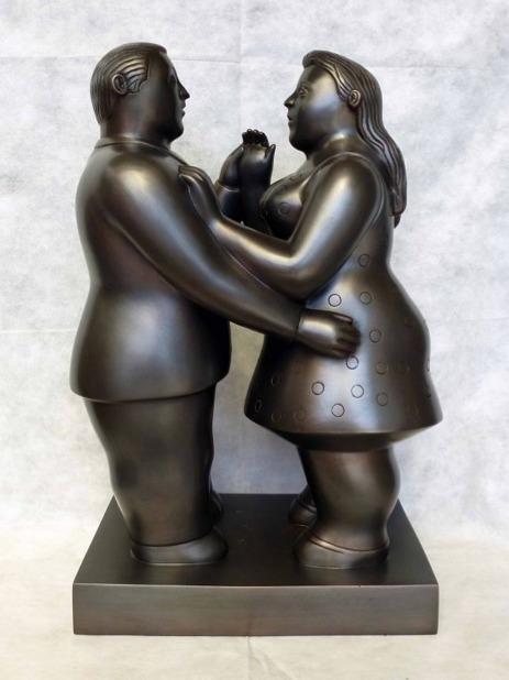 Fernando Botero, 'Dancers', 2013, David Benrimon Fine Art