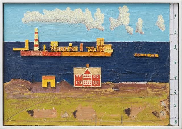 , 'Det store skipet i aftensolen,' 2013, OSL Contemporary