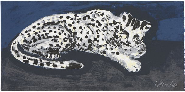 , 'Sleepy Snow Leopard,' 2016, Sifang Art Museum
