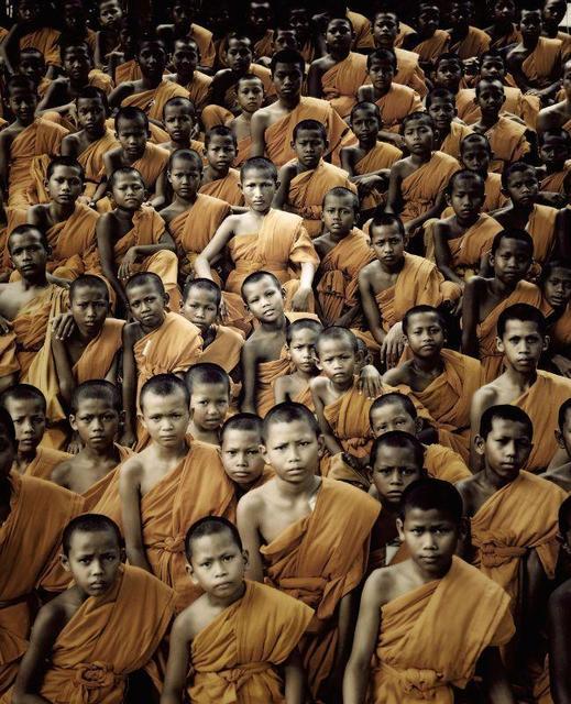 , 'XIX 330 v- Buddhist Monks - Ganden Monastery - Tibet,' 2011, AbrahamArt