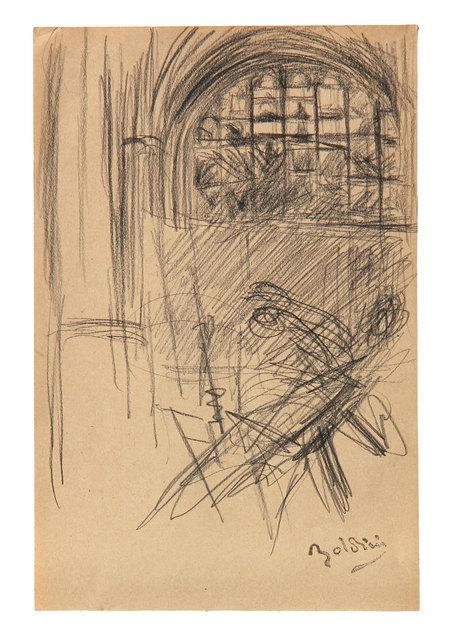 Giovanni Boldini, 'Interno di chiesa e figure', 1910, Ambrosiana Casa d'Aste
