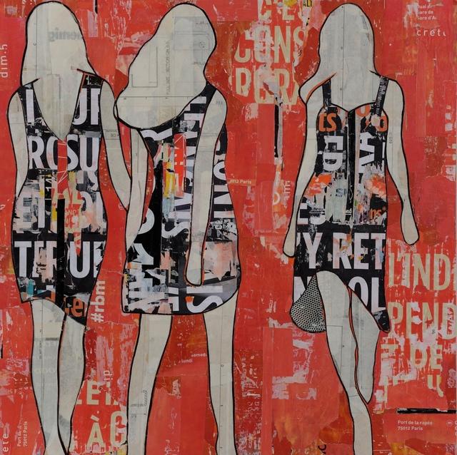 , 'Orange Walking Girls,' , Joanne Artman Gallery