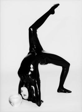 , 'Cat and Fish: Estella Warren,' 1995, Staley-Wise Gallery