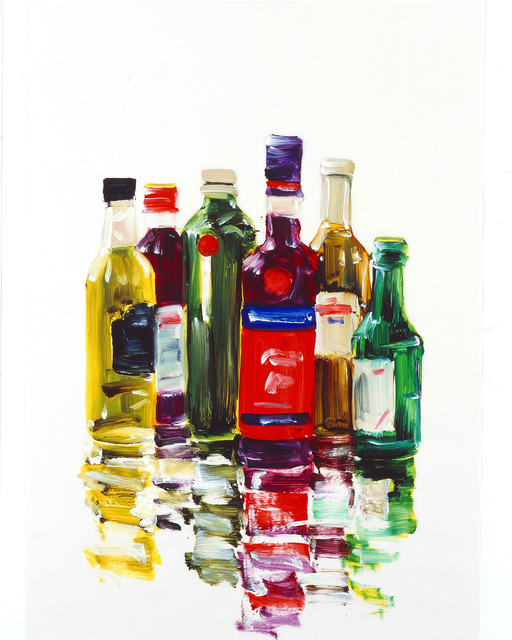 , 'Bottles,' 2014, Hosfelt Gallery