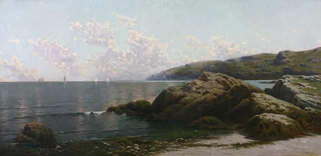 , 'Coastal Landscape,' , Avery Galleries