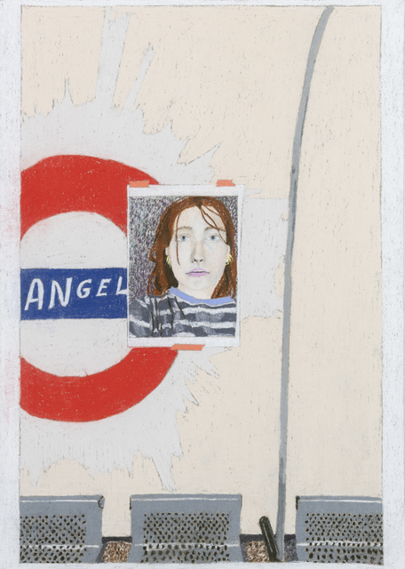 Marie Jacotey, 'You my Angel', 2018, Hannah Barry Gallery