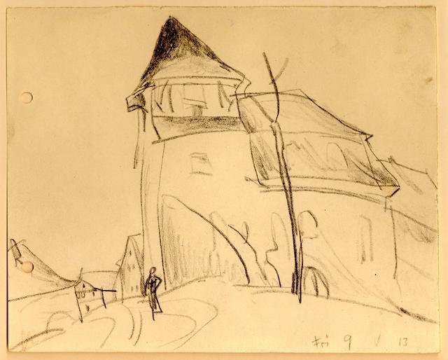 , 'Kirche von Vollersroda,' 1913, Henze & Ketterer