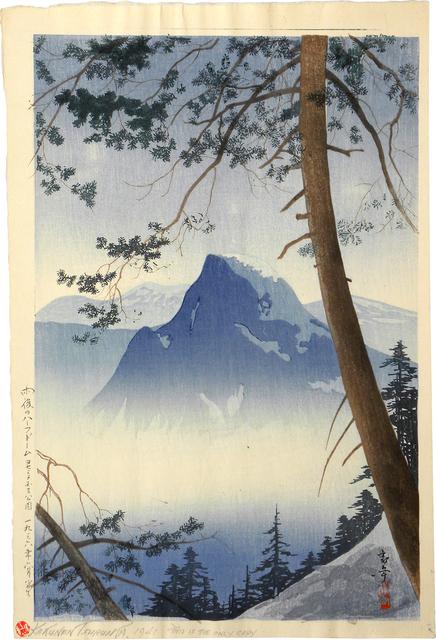 Kakunen Tsuruoka, 'Half Dome After Rain, Yosemite National Park', ca. 1936, Scholten Japanese Art
