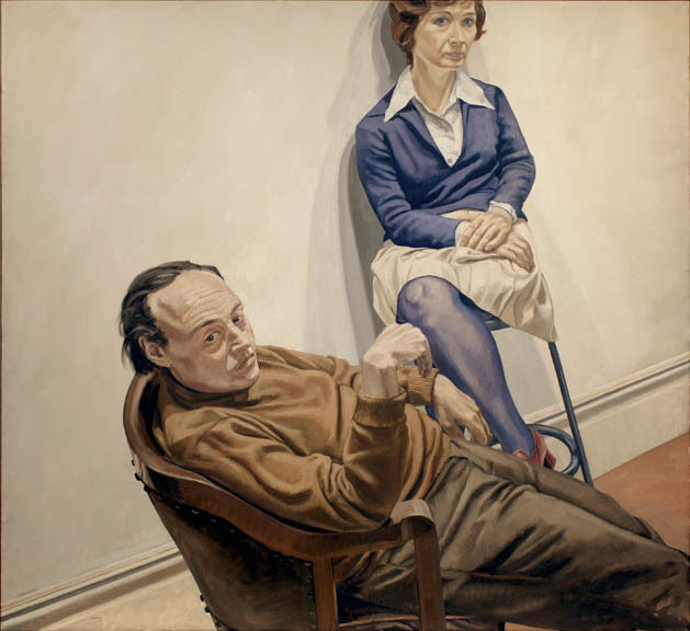 , 'Portrait of Al Held and Sylvia Stone,' 1968, Betty Cuningham