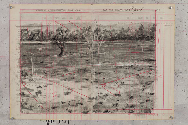 , '5km from Carletonville,' 2011, Goodman Gallery
