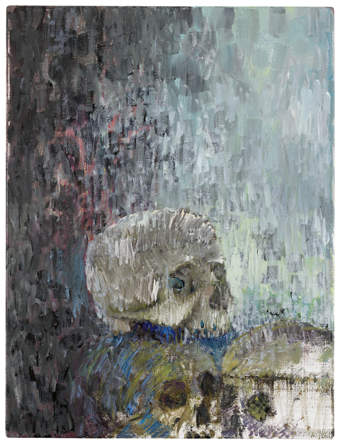 , 'Three Skulls,' 2016, Marian Goodman Gallery