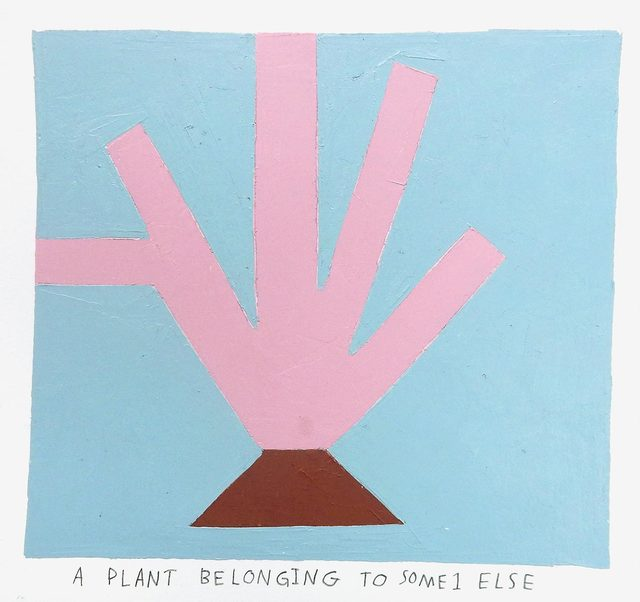 , 'a plant belonging to someone else,' 2017, Uprise Art
