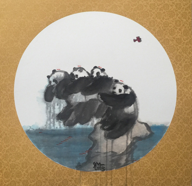 , 'Panda Babe Series,' 2015, Mobilia Gallery