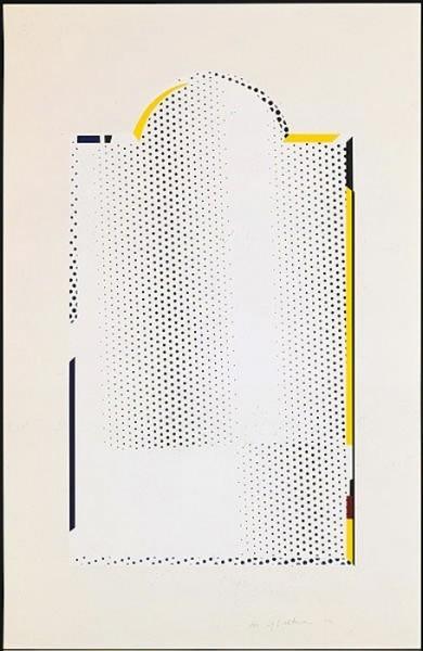 Roy Lichtenstein, 'Mirror #7', 1972, Nikola Rukaj Gallery