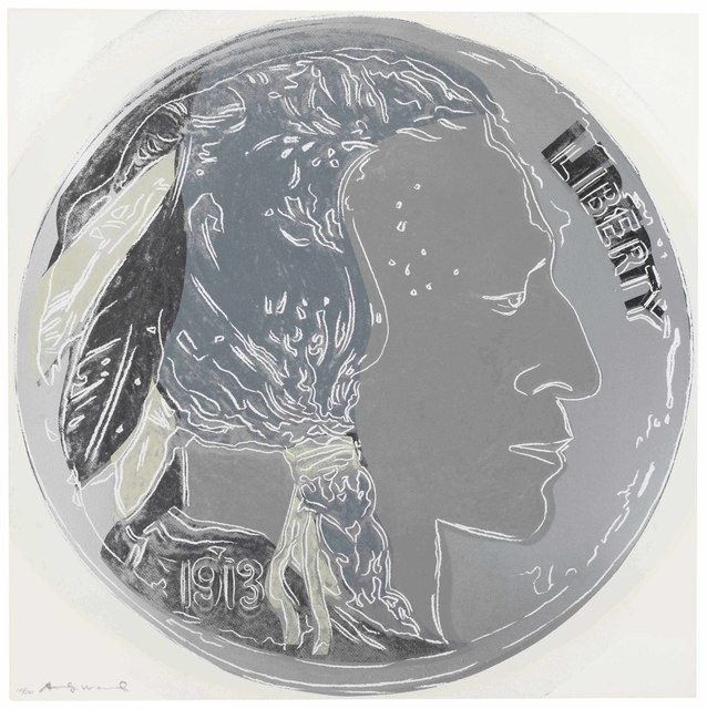 Andy Warhol, 'Indian Head Nickel, from Cowboys and Indians', 1986, Christie's