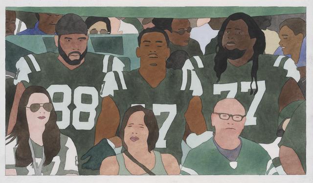 Kota Ezawa, 'National Anthem (New York Jets)', 2019, RYAN LEE