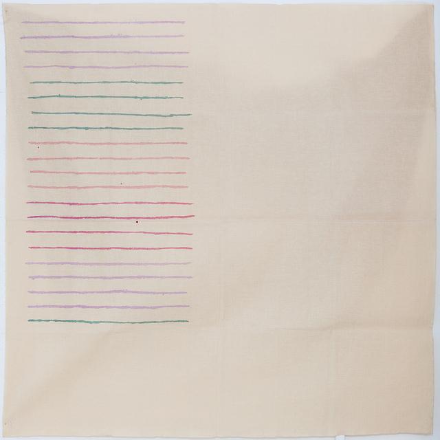 , 'LINEE ORIZZONTALI,' 1976, Studio Guastalla