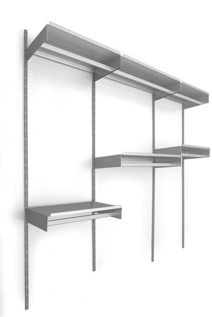 De Padova, 'A modular system '606 universal shelving system' for walk-in closet', 1984, Aste Boetto