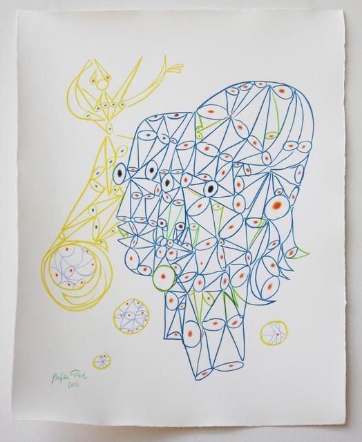 , 'Cocteau opium heads,' 2016, Dominik Mersch Gallery