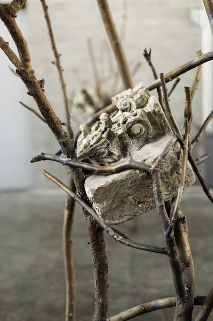 , 'Foglie di pietra/Leaves of stone (detail),' 2013, Gagosian