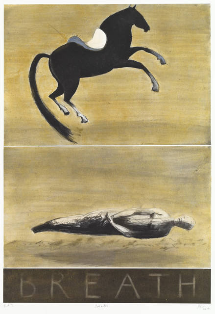 Deborah Bell, 'Breath', 2017, Print, Drypoint, softground & spitbite aquatint with handcoloured chine colle, David Krut Projects