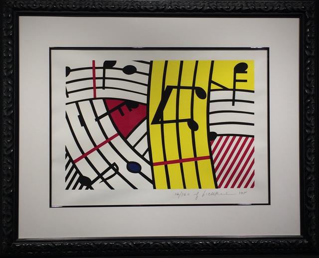 Roy Lichtenstein, 'Composition IV (Musical Notes)', 1995, Soho Contemporary Art