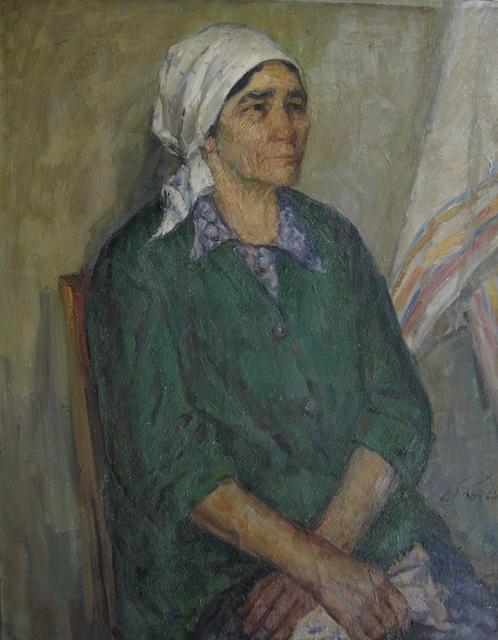 Aleksey Dmitrievich Potapov, 'Aunt Dasha', 1972, Surikov Foundation